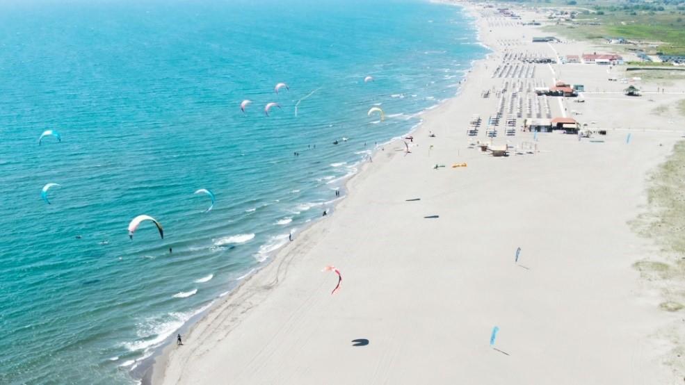 Kitesurfing Strand Montenegro Ulcinj