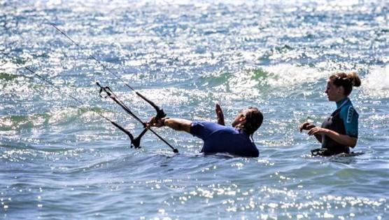 kitesurfen lernen, kitesurfen Anfänger, kitesurfunterricht, Einzelunterricht, stehrevier