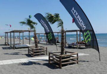 kitesurfen, montenegro, strand, ulcinj, kiteschule