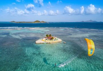 kitesurfen, kitecruise karibik, union island