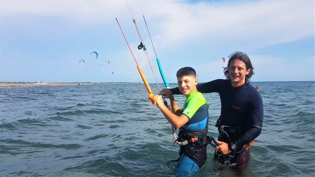 Kitesurfen lernen, Kitesurfen Kinder, Kitesurfkurs Kinder, Kitesurfen Anfänger